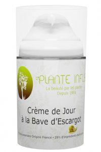 CREME DE JOUR A LA BAVE D'ESCARGOT PLANTE INFUS COSMETIQUES 50ml